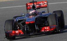 Předsezónní testy otevřel nejrychlejším časem Button