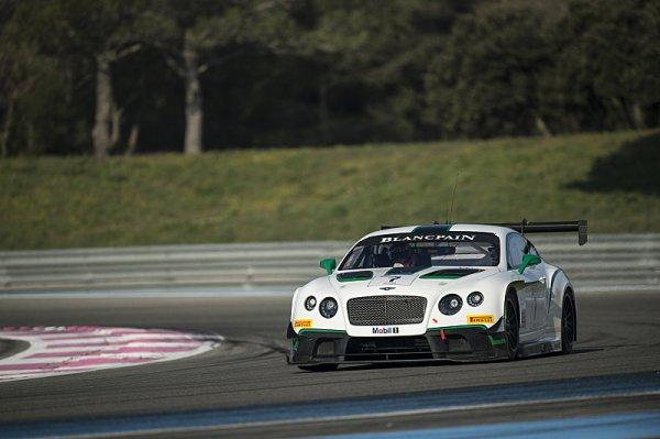 Bentley se raduje z vítězství na domácí půdě