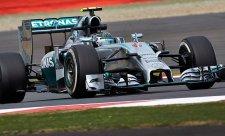 V sobotním tréninku byl nejrychlejší Rosberg