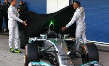 Mercedes v Jerezu ukázal svůj vůz