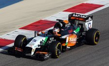 Force India zásluhou Hülkenberga na čele
