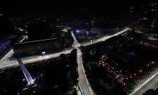 Večer v Singapuru kraloval Sebastian Vettel