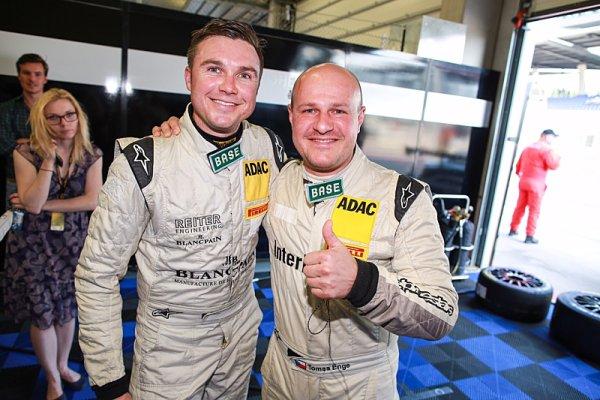 Enge vybojoval v Rakousku první vítězství v ADAC GT Masters!