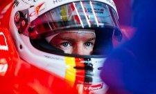 Přípravu na kvalifikaci překazil déšť, Vettel nejrychlejší
