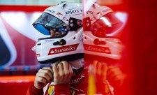 Vettel je se třetím místem spokojen