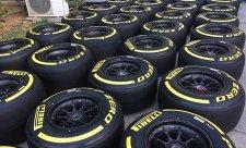Pirelli se připravuje na Velkou cenu Japonska