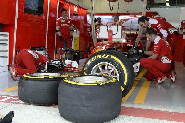 Pirelli a týmy F1 sdílejí informace z vývoje