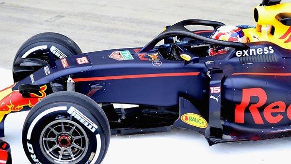 Red Bull dnes poprvé otestoval halo