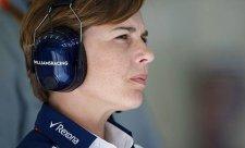 Williamsová: F1 nefunguje