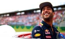 Červená vlajka možná Ricciardovi zachránila druhé místo