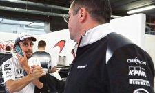 Personální změny už mají pozitivní efekt, řekl Alonso