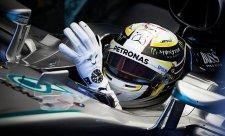 Hamilton vítězem VC Německa, Rosberg až čtvrtý