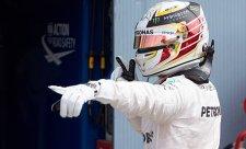Hamilton ztratil závod ještě před první zatáčkou