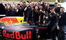 Verstappen poděkoval za skvělý vůz