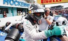 Ecclestone o Rosbergovi: Pouze mistr světa