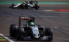 Force India se dostala před Williams