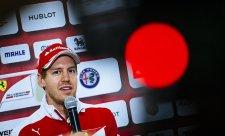 Ferrari chce nové posouzení Vettelovy kolize