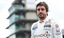 Alonso bude ve středu testovat vůz IndyCar
