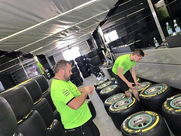 Pirelli se připravuje na Velkou cenu Španělska