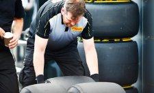 Pirelli se připravuje na Velkou cenu Velké Británie