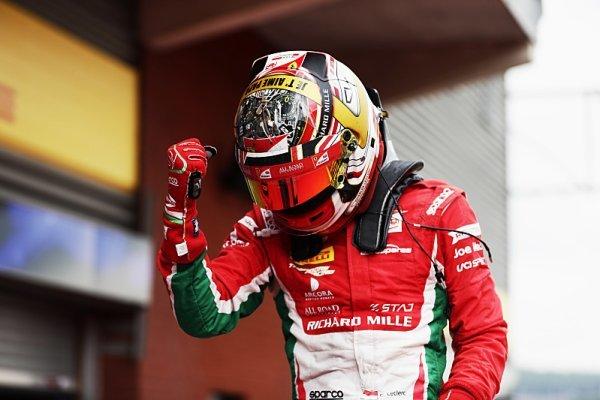 Leclerc si ve Spa připsal další vítězství