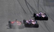 Force India neuznává týmovou režii