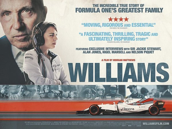 Příští měsíc bude uveden filmový dokument o Williamsu