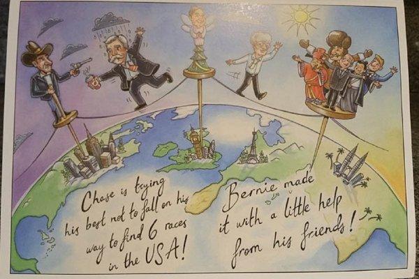 Veselé Vánoce přeje Bernie Ecclestone