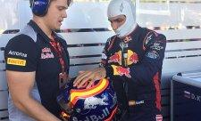 Sainz má ze čtvrtého roku v Toro Rosso najednou radost