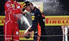 Ricciardo údajně vyjednává pouze s Ferrari
