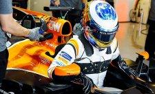McLaren má za sebou poslední kvalifikaci s Hondou