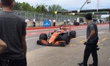 Alonso: McLaren je v Montrealu velmi, velmi dobrý