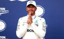 Hamilton je novým rekordmanem v počtu pole position