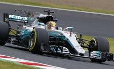 Hamilton vyhrál v novém kvalifikačním maximu