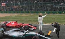 Hamilton dnes neměl konkurenci