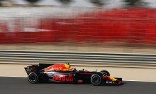 Ve třetím tréninku byl nejlepší Verstappen