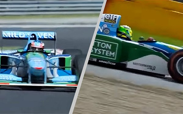 Michael a Mick Schumacherovi ve Spa-Francorchamps