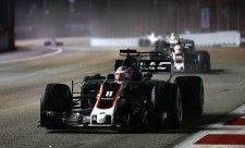 Grosjean na začátku závodu vůbec nic neviděl
