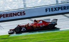 Před kvalifikací byl nejrychlejší Vettel