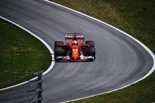 Vettel zajel velmi dobré kolo
