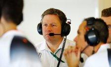 Brown chce rozhýbat zkostnatělý McLaren