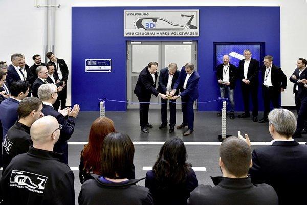 Volkswagen otevřel nové centrum 3D tisku
