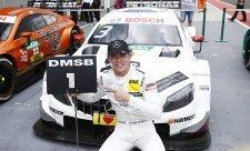 Double Mercedesu s vítězstvím Di Resty