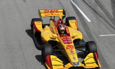 Odpoledne kraloval Ryan Hunter-Reay