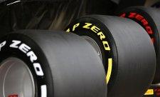 Nejrychlejší byly nejtvrdší pneumatiky ze střední směsi