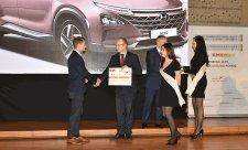 Vodíkový Hyundai Nexo obdržel titul ČEEP 2017
