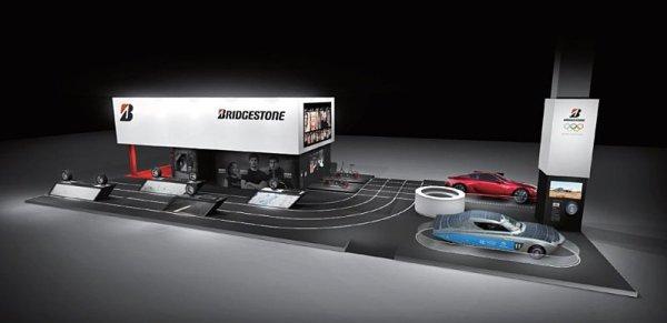 Bridgestone na pařížském autosalonu