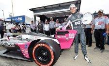 Andretti získal první pole position na městském okruhu