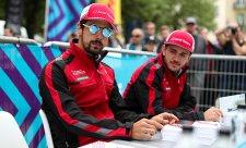 U Audi zůstávají Abt a Di Grassi