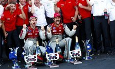 Vergne nezabránil týmovému triumfu Audi